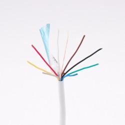 8x0,22mm biztonságtechnikai kábel