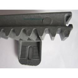 CRV6 fémszálas erősítésű műanyag fogasléc