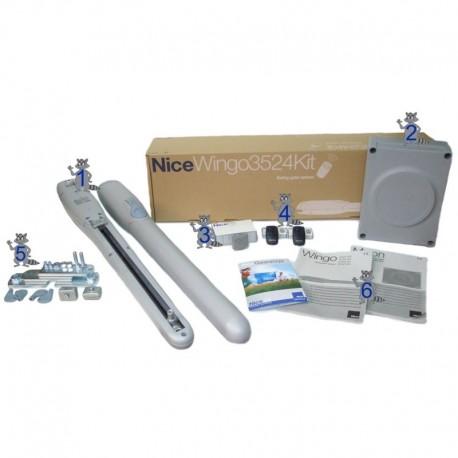 Nice Wingo 3524 swing gate kit
