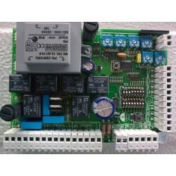LUX 2i vezérlés kétszárnyú kapuhoz elektromos zár, kertivilágítás