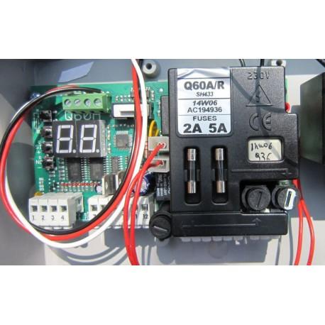 Proteco Q60 A/R digitális vezérlés Aster Leader szárnyaskapuhoz