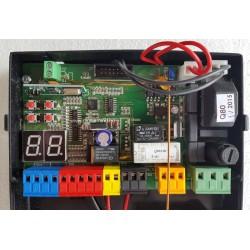Proteco Q80 S digitális vezérlés toló vagy egyszárnyú kapuhoz