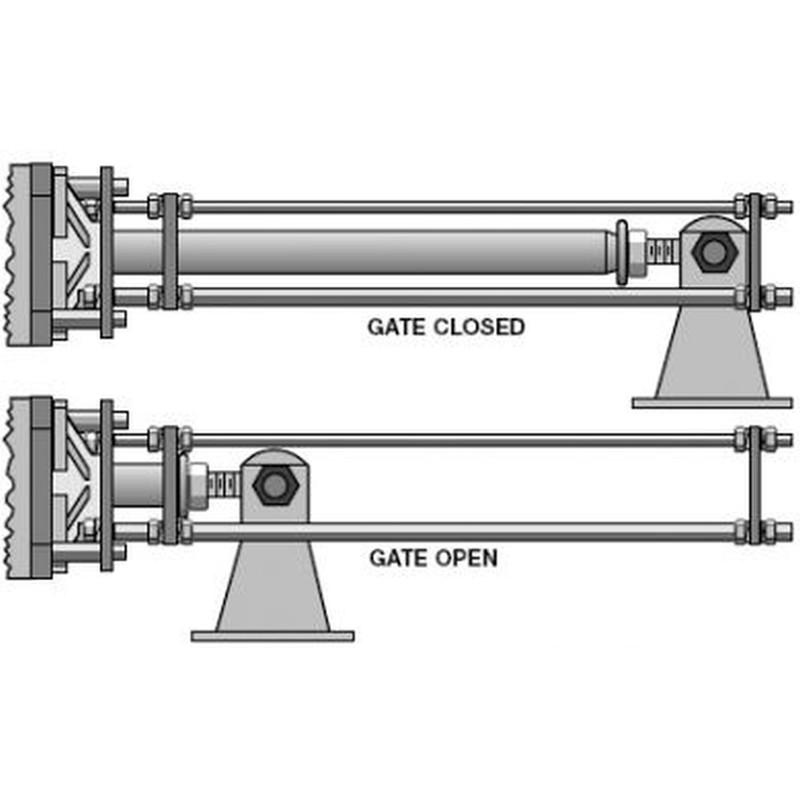 Faac sbs swing gate engine