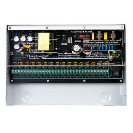 PR-12A16CH CCTV tápegység 12V 12A