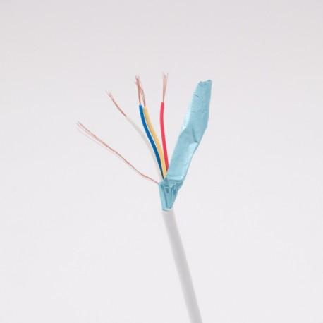 4x0,22mm biztonságtechnikai kábel