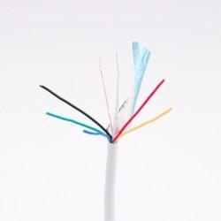6x0,22mm biztonságtechnikai kábel