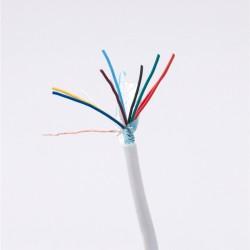 10x0,22mm biztonságtechnikai kábel