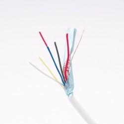 2x0,5 + 4x0,22mm biztonságtechnikai kábel