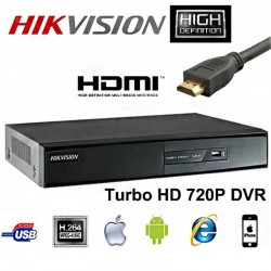 DS-7204HGHI-SH/A 4 HD-TVI 4 Kanal DVR