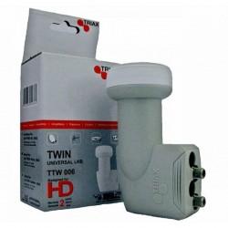 Triax TTW 006 twin műholdvevő fej