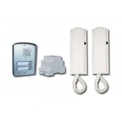 Farfisa KIT2 UPS 2 lakásos kaputelefon szett