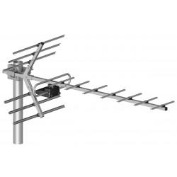 16/21-60 UHF antenna erősítővel