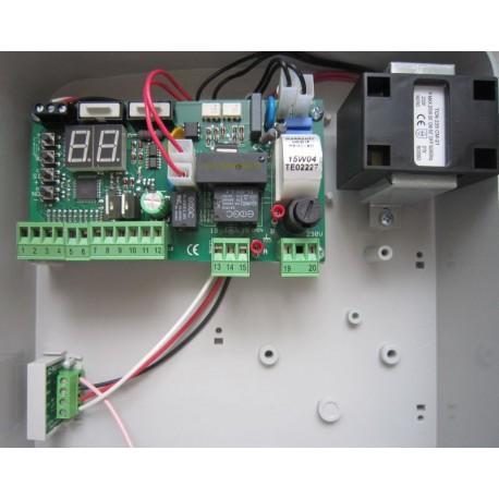 T011Sod digitális programozású vezérlés tolókapuhoz