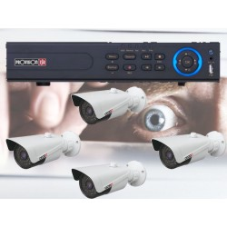 NVR-4100P 4 POE IP camera surveillance kit