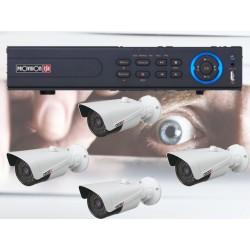 NVR-4100P 4 POE IP camera surveillance kit