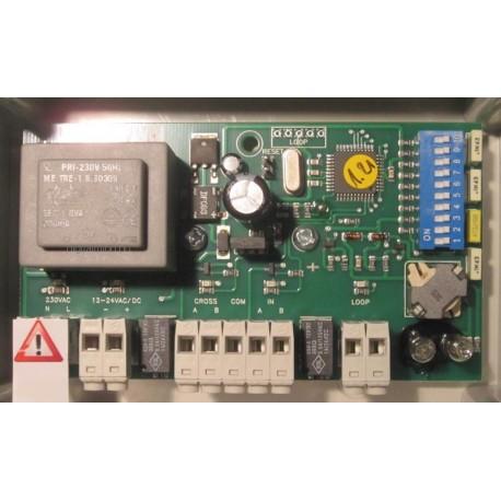 Loop induction loop detector