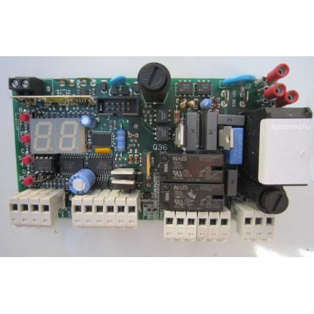 Proteco Q36A vezérlés műszaki útmutató