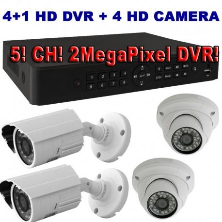 SS3400AHD 4+1 camera surveillance kit