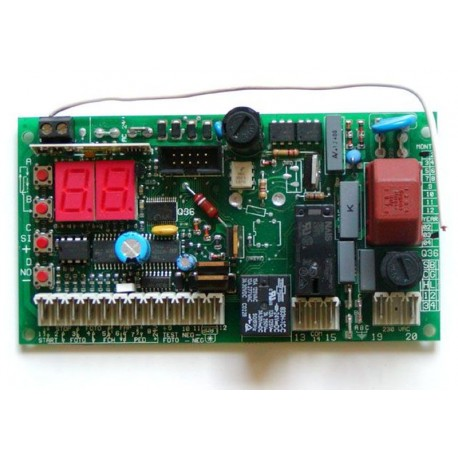 Proteco Q36S vezérlés műszaki útmutató