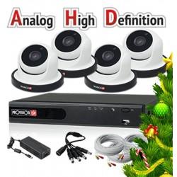 SA-4050AHD 4+1 kameras videoüberwachung set