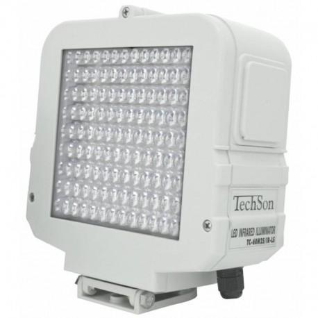 TC 30M 80 IR nagy látószögű inframegvilágító reflektor