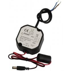 PSC12015 80mm-es dobozba szerelhető 12V 1,5A tápegység
