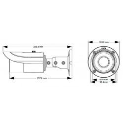 TD-9443E1 4 MegaPixel varifocal IP kamera