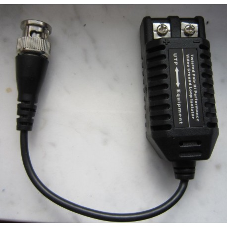 EBTPG-600 video signal noise filter with balun