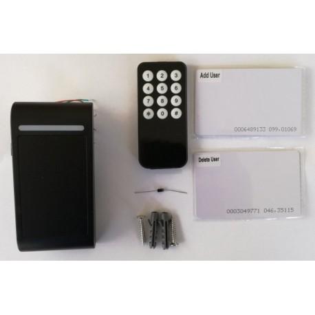 M3EH-W önálló kártyaolvasó beléptető