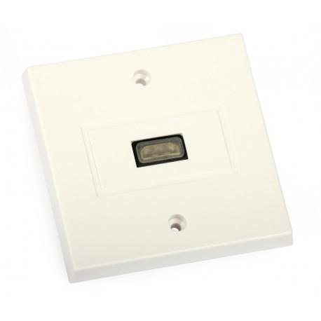 HDMI wall socket
