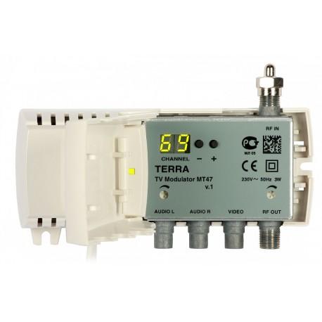 Terra MT47 DBS TV RF modulator
