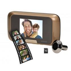 OR-WIZ-1101 rögzítős videos ajtó kitekintő kamera, montor