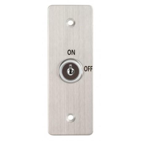 KY-C-SS-2 süllyeszthető kulcsos kapcsoló