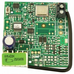 RP1 433 radio receiver to FAAC control panel