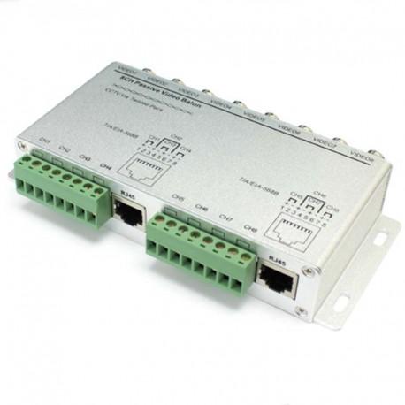 EB808 8 channel passive video balun