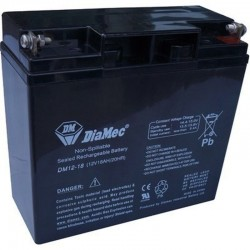 12V 18Ah Diamec DM12-18 sealed lead acid battery