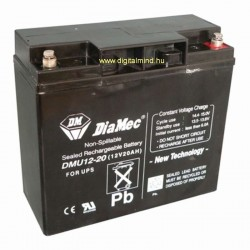 12V 20Ah Diamec DM12-20 sealed lead acid battery