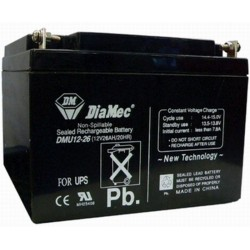 12V 26Ah Diamec DM12-26 sealed lead acid battery