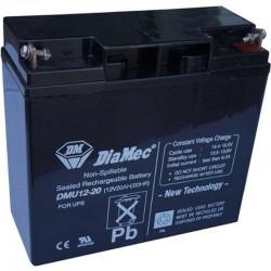 12V 40Ah Diamec DM12-40 Blei-Säure-Batterie