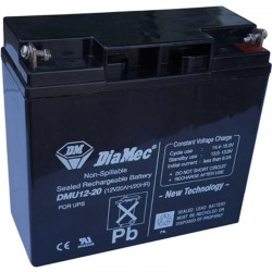 12V 40Ah Diamec DM12-40 sealed lead acid battery