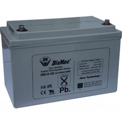 12V 100Ah Diamec DM12-100 sealed lead acid battery