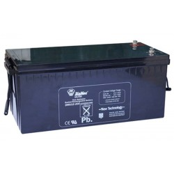 12V 200Ah Diamec DM12-200 sealed lead acid battery