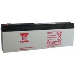 12V 2.3Ah Yuasa NP2.3-12 Blei-Säure-Batterie