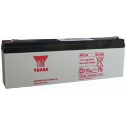 12V 2,3Ah Yuasa NP2.3-12 sealed lead acid battery