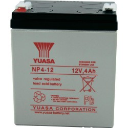 12V 4Ah Yuasa NP4-12 sealed lead acid battery