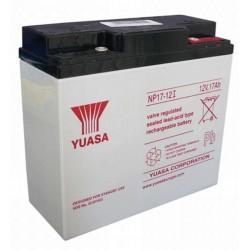 12V 17Ah Yuasa NP17-12 Blei-Säure-Batterie
