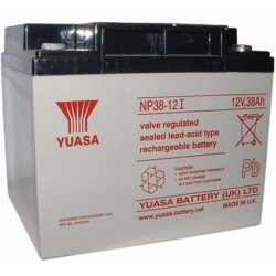 12V 38Ah Yuasa NP38-12 sealed lead acid battery