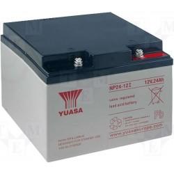 12V 24Ah Yuasa NP24-12 Blei-Säure-Batterie