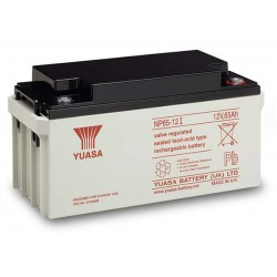 12V 65Ah Yuasa NP65-12 sealed lead acid battery