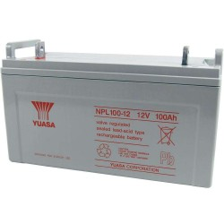 12V 100Ah Yuasa NPL100-12 sealed lead acid battery